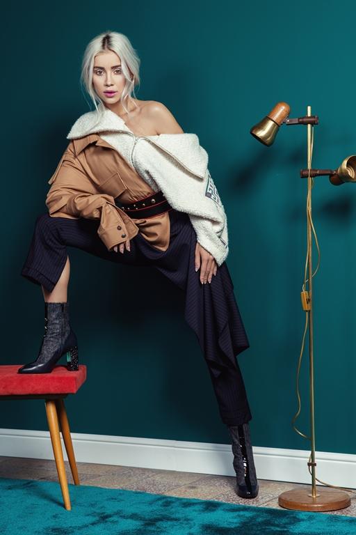 Alina Ceusan - Cover story Revista FPM Fashion Premium Magazine