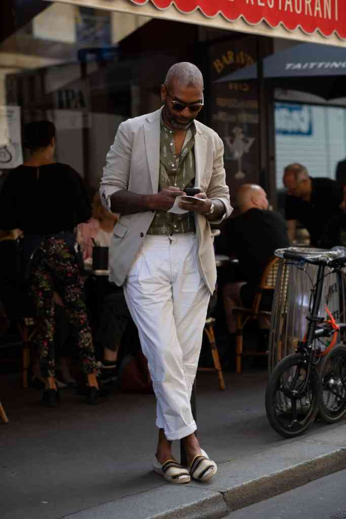 Street Style Men's Paris