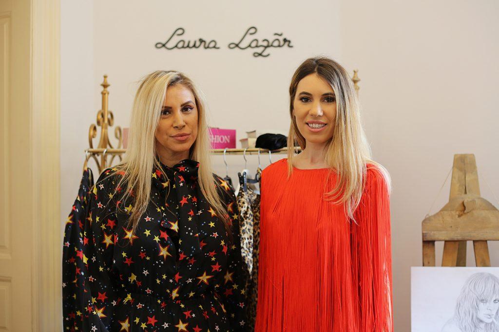 designeri romani: Laura Lazar si Cristina Bursuc