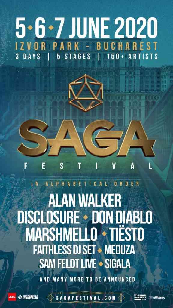 artisti saga festival