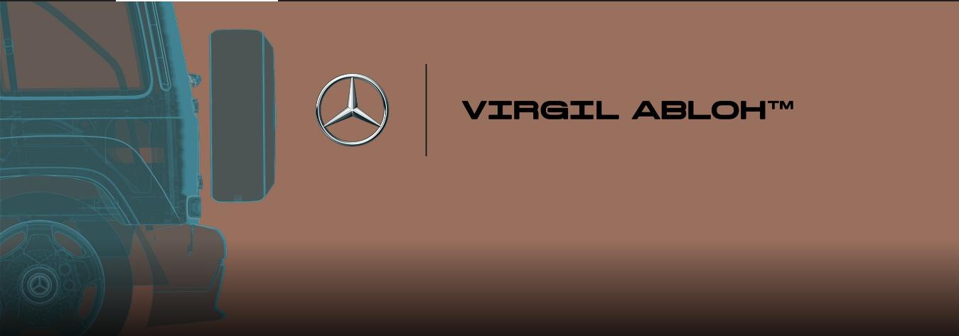 Mercedes Benz Virgil Abloh