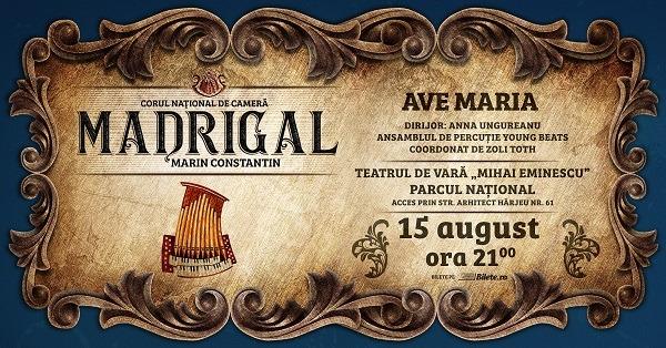 "Concertul Extraordinar ""Ave Maria"""