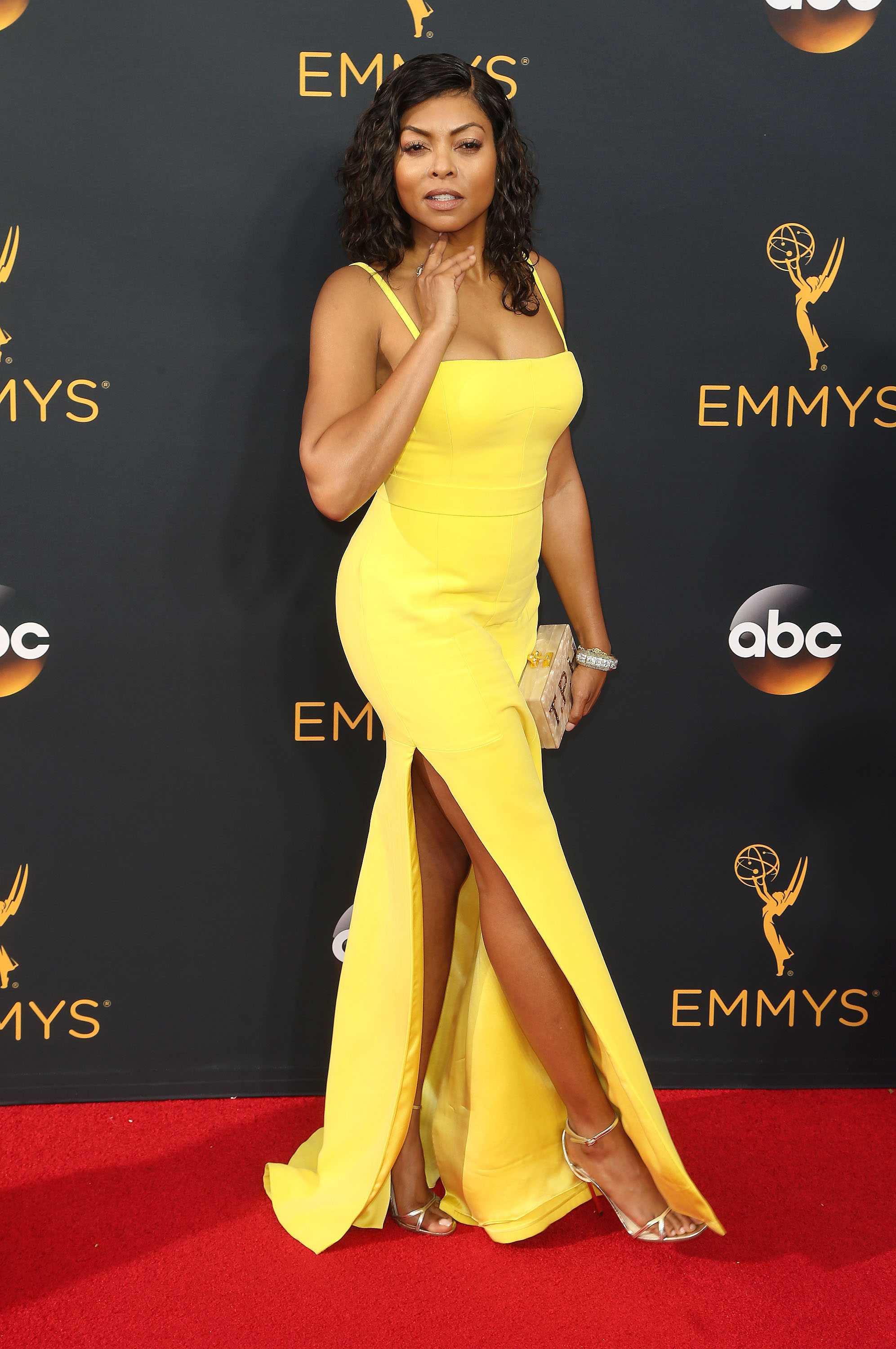 September 18, 2016 - Los Angeles, CA, United States - 18 September 2016 - Los Angeles, California - Taraji P. Henson. 68th Annual Primetime Emmy Awards held at Microsoft Theater. Photo Credit: AdMedia.   September 18, 2016