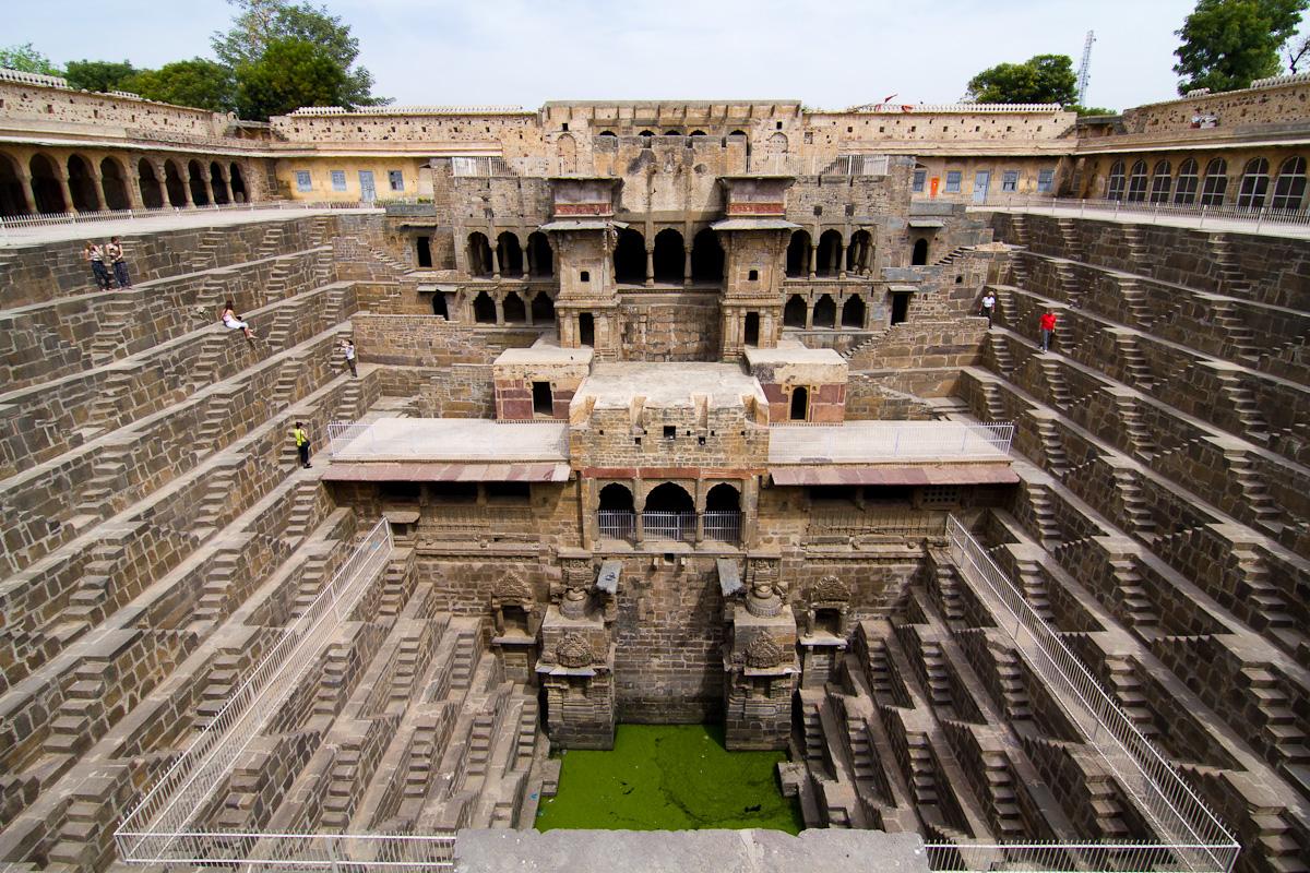 Chand Baoli Step-well, Rajasthan, India