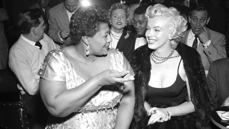 Ella Fitzgerald și Marilyn Monroe