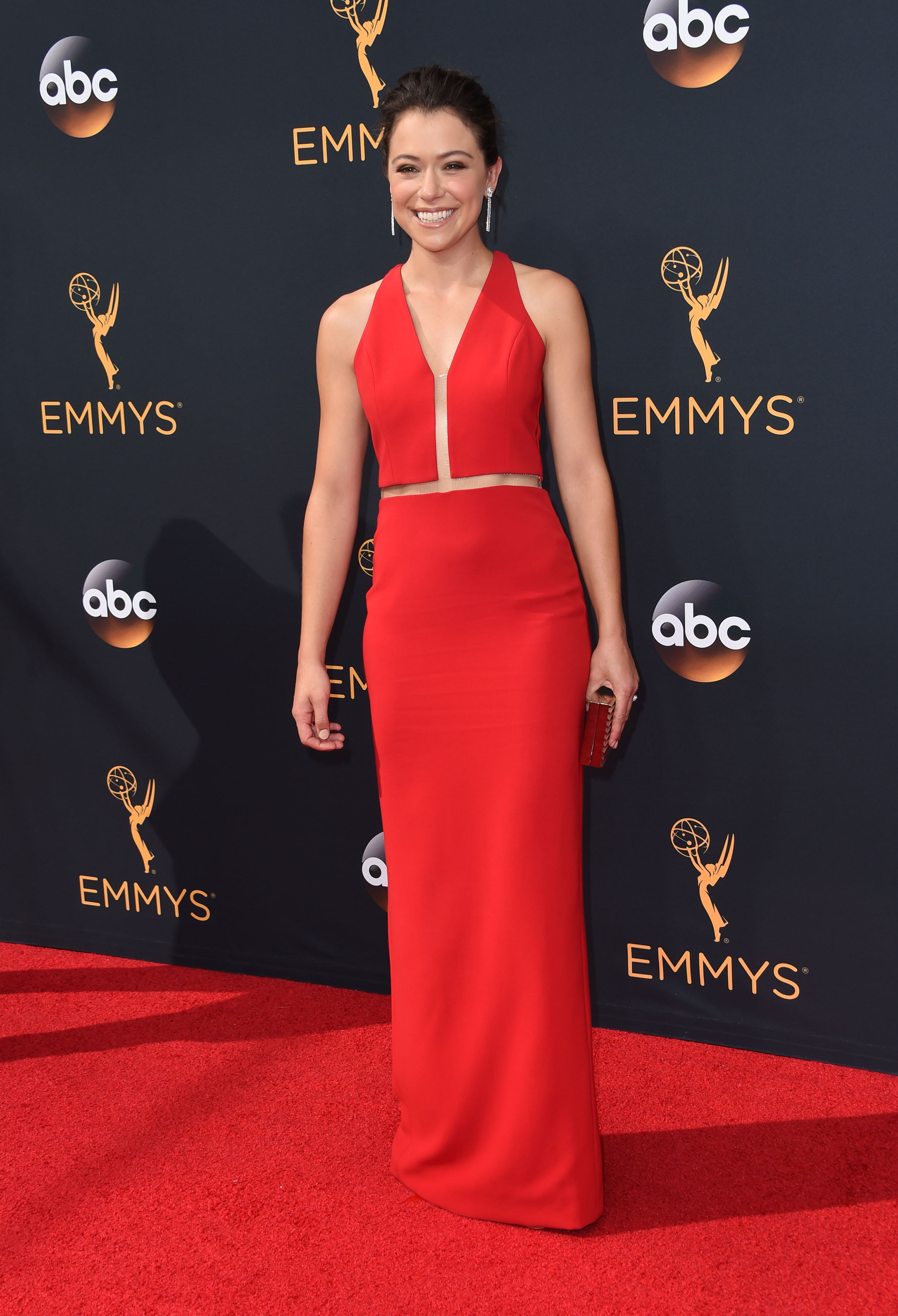 Tatiana Maslany @ the 2016 Emmy Awards held @ the Microsoft theatre. September 18, 2016   September 18, 2016